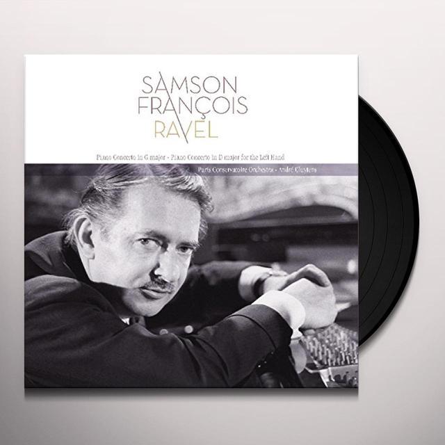 Ravel / Samson Francois RAVEL: PIANO CONCERTO IN G MAJOR Vinyl Record