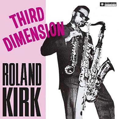 Roland Kirk THIRD DIMESNION / TRIPLE THREAT Vinyl Record