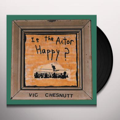 Vic Chesnutt IS THE ACTOR HAPPY Vinyl Record