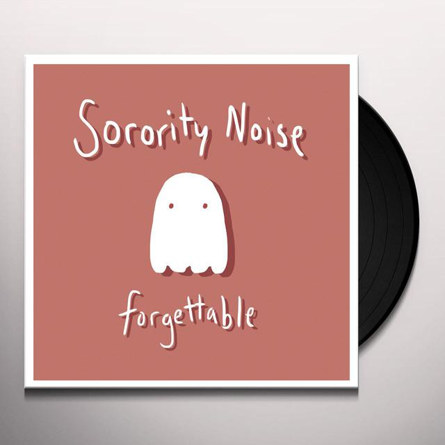 Sorority Noise FORGETTABLE Vinyl Record