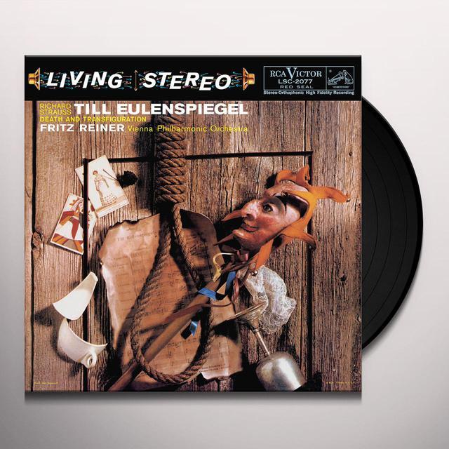 Strauss / Reiner TILL EULENSPIEGEL / DEATH & TRANSFIGURATION Vinyl Record