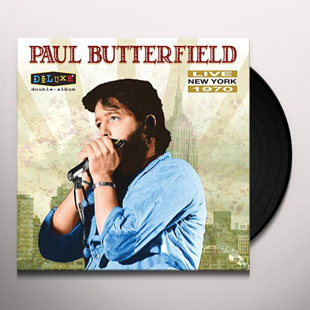 Paul Butterfield LIVE IN NEW YORK 1970 Vinyl Record