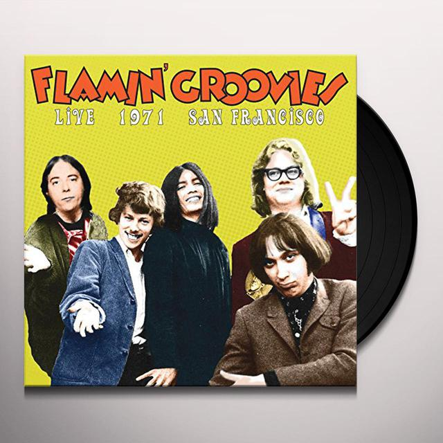 Flamin Groovies LIVE IN SAN FRANCISCO 1973 Vinyl Record