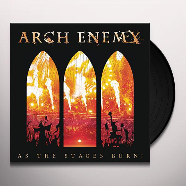 Arch Enemy AS THE STAGES BURN Vinyl Record