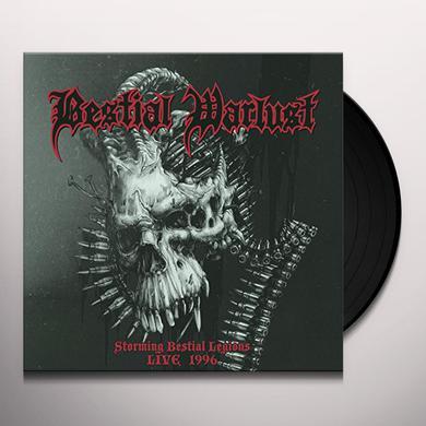 Bestial Warlust STORMING BESTIAL LEGIONS LIVE '96 Vinyl Record