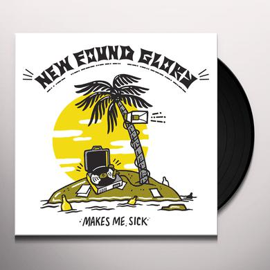 New Found Glory MAKES ME SICK Vinyl Record