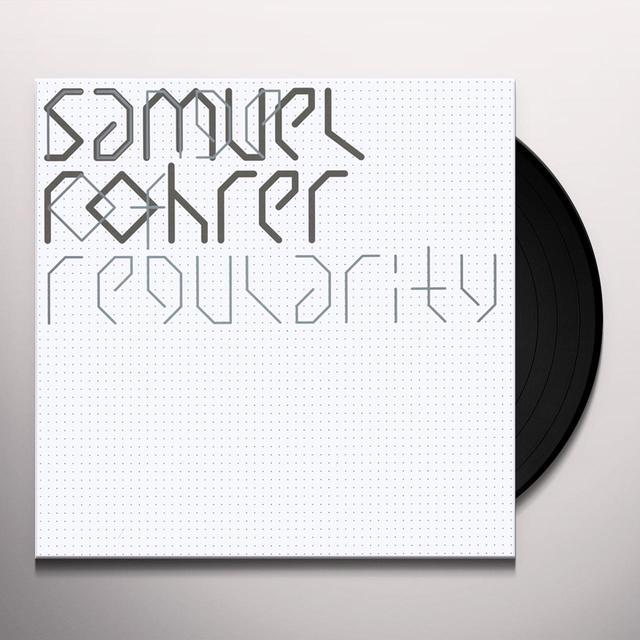 Samuel Rohrer RANGE OF REGULARITY Vinyl Record