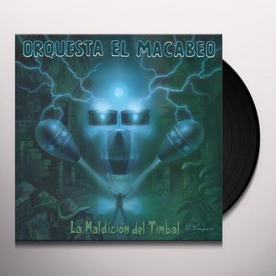 Orquesta El Macabeo LA MALDICION DEL TIMBAL Vinyl Record