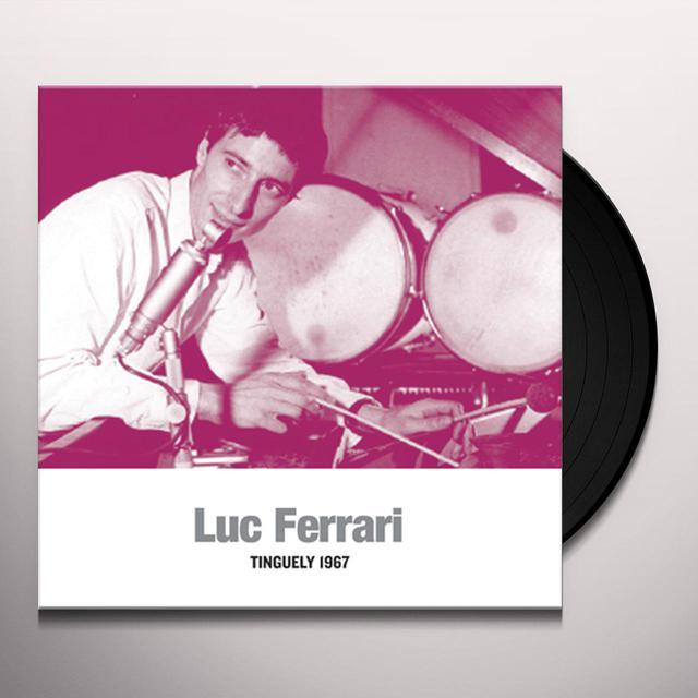Luc Ferrari TINGUELY 1967 Vinyl Record