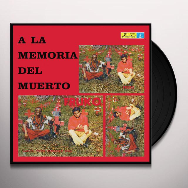 Fruko LA MEMORIA DEL MUERTO Vinyl Record