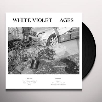 White Violet AGES Vinyl Record