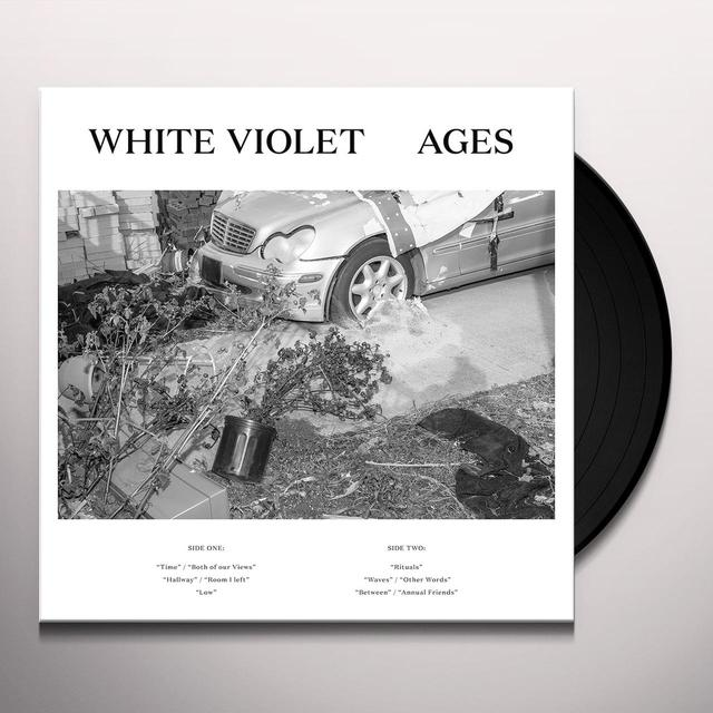 White Violet AGES Vinyl Record