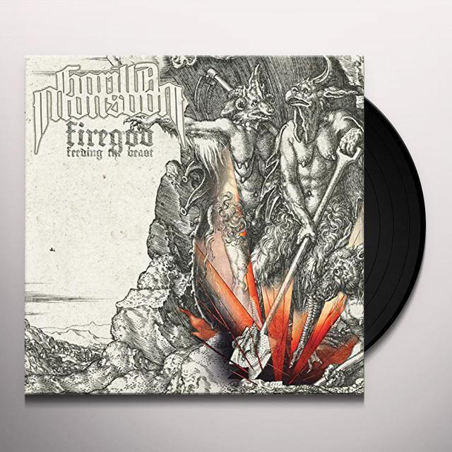 Gorilla Monsoon FIREGOD Vinyl Record