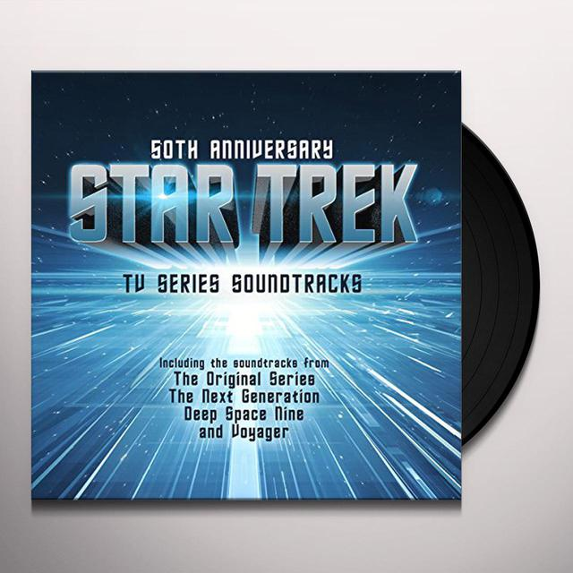 STAR TREK - 50TH ANNIVERSARY: TV SERIES SOUNDTRACK Vinyl Record
