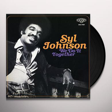 Syl Johnson WE DO IT TOGETHER Vinyl Record