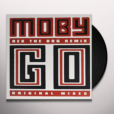 Moby GO REMIXES Vinyl Record