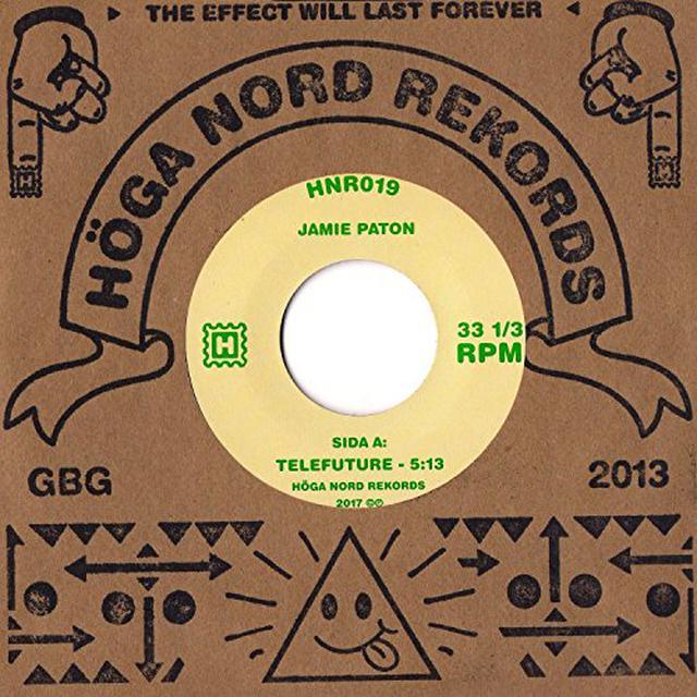 Jamie Paton TELEFUTURE / BLIND SUMMIT Vinyl Record
