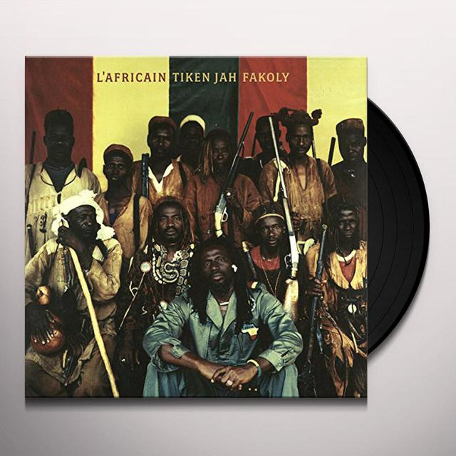 Tiken Jah Fakoly L'AFRICAIN Vinyl Record