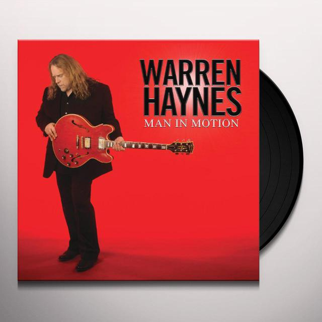 Warren Haynes MAN IN MOTION Vinyl Record