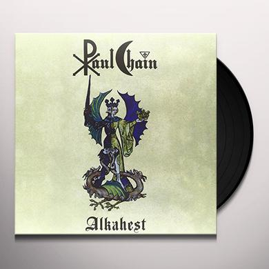 Paul Chain ALKAHEST Vinyl Record