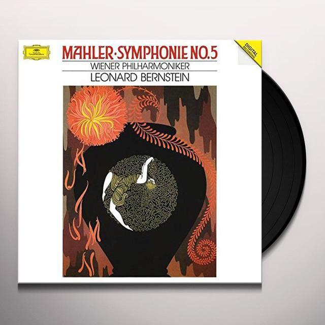 Mahler / Bernstein / Wiener Philharmoniker SYMPHONY NO 5 Vinyl Record