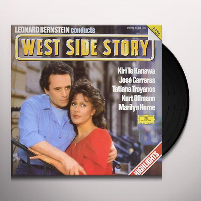 Te Kanawa / Carreras / Bernstein LEONARD BERNSTEIN CONDUCTS WEST SIDE STORY Vinyl Record