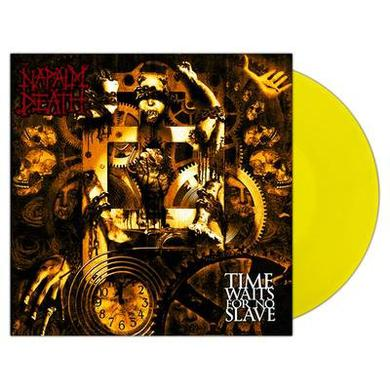 Napalm Death TIME WAITS FOR NO SLAVE Vinyl Record