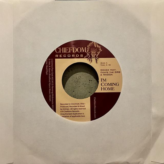 Grimez I'M COMING HOME / GIANTS AMONGST MEN Vinyl Record