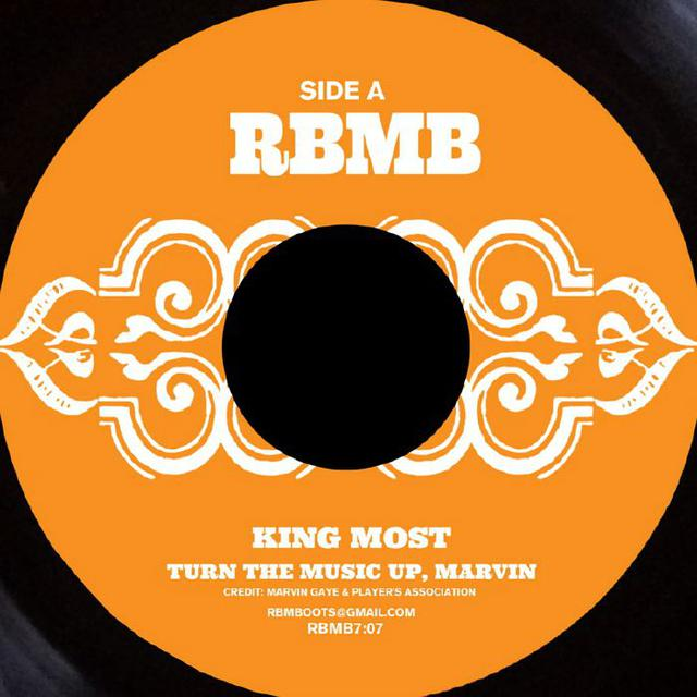 King Most TURN THE MUSIC UP MARVIN / HOOK SWING & RIP Vinyl Record