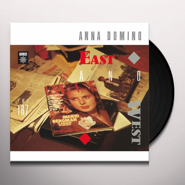 Anna Domino EAST & WEST + SINGLES Vinyl Record