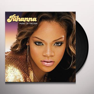 Rihanna MUSIC OF THE SUN Vinyl Record