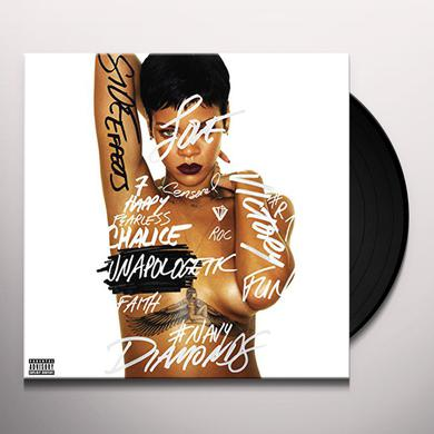 Rihanna UNAPOLOGETIC Vinyl Record