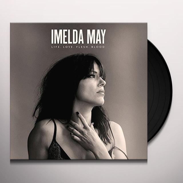 Imelda May LIFE LOVE FLESH BLOOD Vinyl Record
