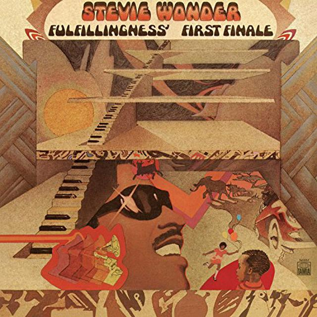 Stevie Wonder FULFILLINGNESS FIRST FINALE Vinyl Record