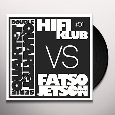 Hifiklub Vs Fatso Jetson DOUBLE QUARTET SERIE #1 Vinyl Record