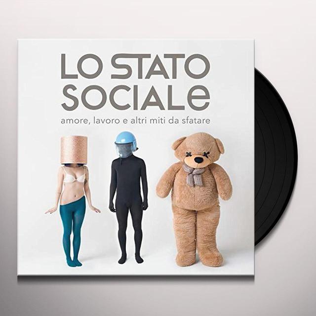Lo Stato Sociale AMORE LAVORO E ALTRI MITI DA SFATARE Vinyl Record