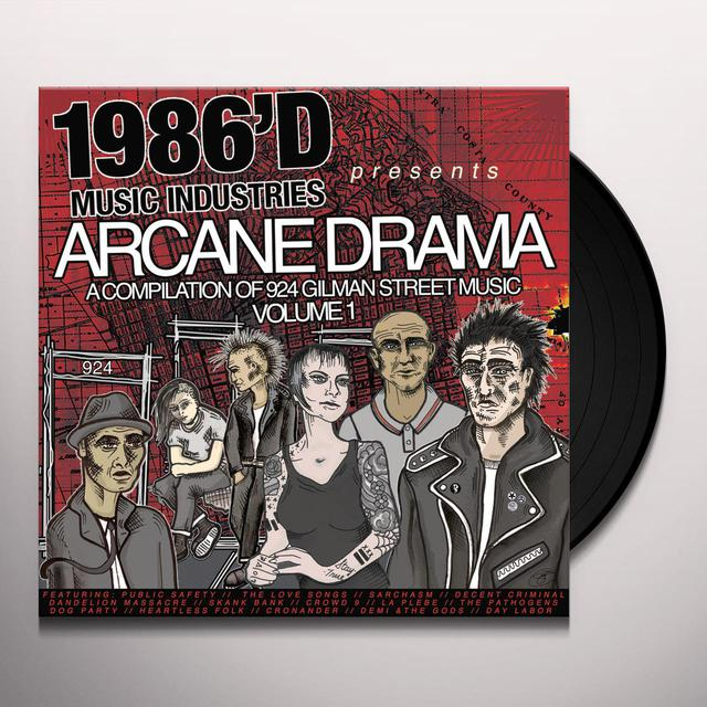 ARCANE DRAMA: COMPILATION OF 924 GILMAN MUSIC Vinyl Record