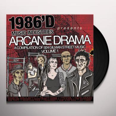 ARCANE DRAMA: COMPILATION OF 924 GILMAN MUSIC Vinyl Record