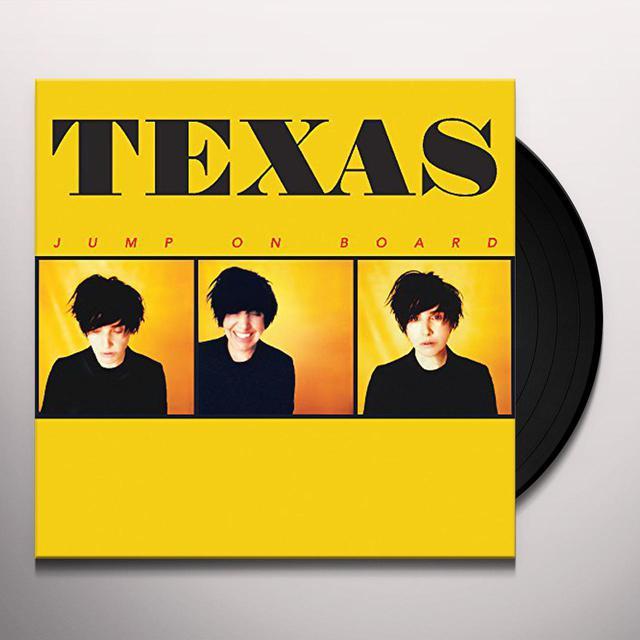 Texas JUMP ON BOARD Vinyl Record