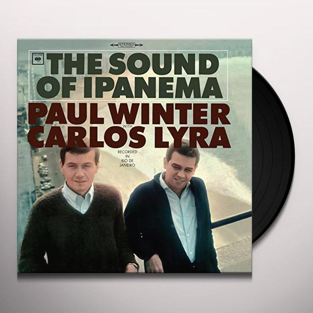 Paul Winter / Carlos Lyra SOUND OF IPANEMA Vinyl Record