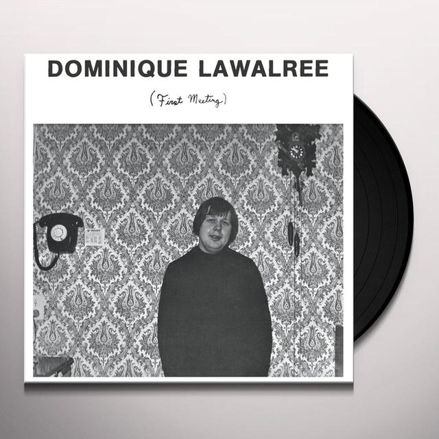 Dominique Lawalree FIRST MEETING Vinyl Record