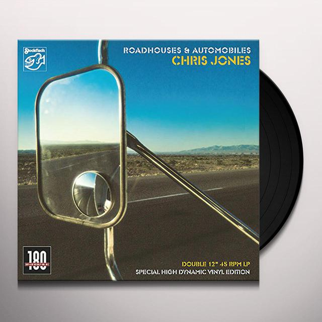 Chris Jones ROADHOUSES & AUTOMOBILES Vinyl Record