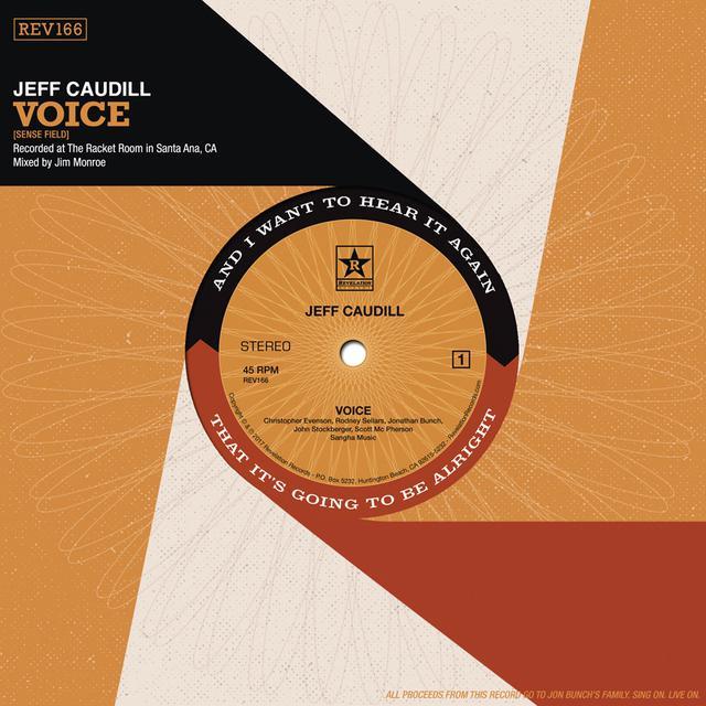 Jeff Caudill VOICE / WISHING WELL Vinyl Record