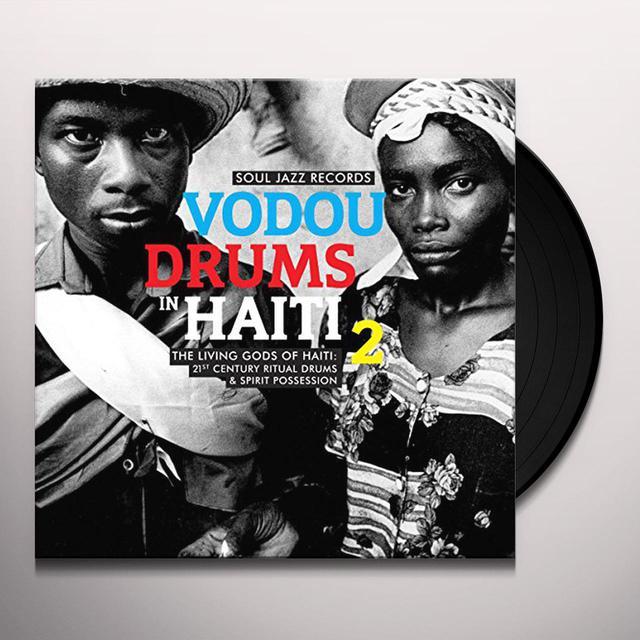 Soul Jazz Records Presents VODOU DRUMS IN HAITI 2 Vinyl Record