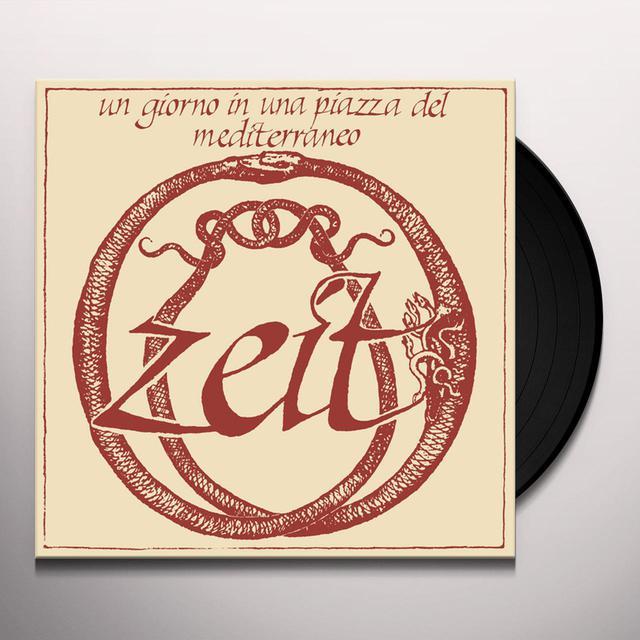 Zeit UN GIORNO IN UNA PIAZZA DEL MEDITERRANEO Vinyl Record