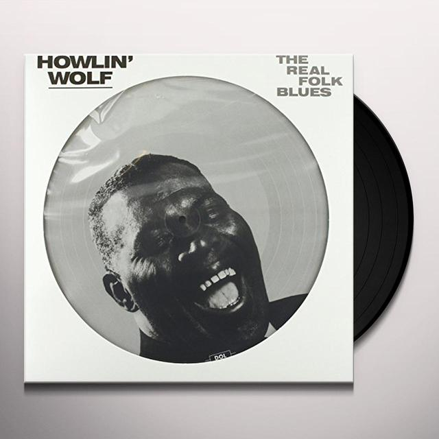 Howlin Wolf REAL FOLK BLUES Vinyl Record