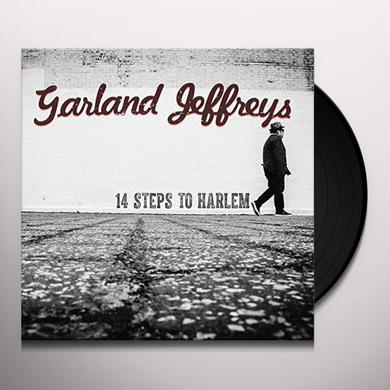 Garland Jeffreys 14 STEPS TO HARLEM Vinyl Record