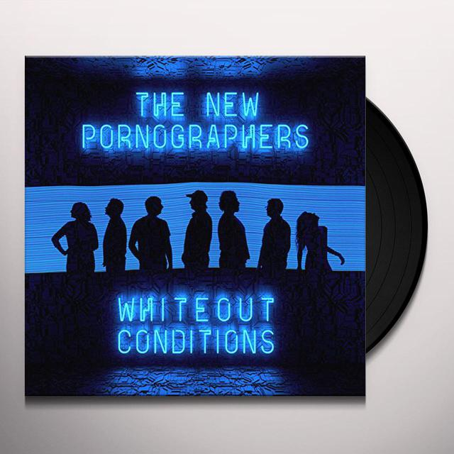 The New Pornographers WHITEOUT CONDITIONS Vinyl Record