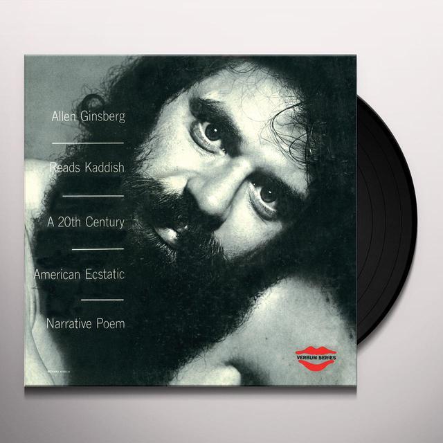 Allen Ginsberg READS KADDISH: A 20TH CENTURY AMERICAN Vinyl Record