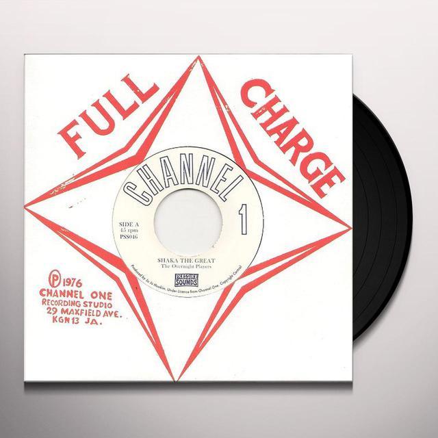 Overnight Players SHAKA THE GREAT Vinyl Record